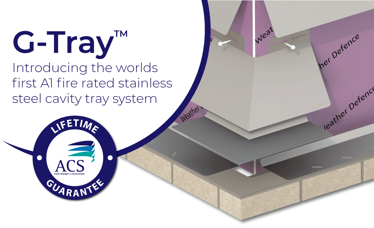 G-Tray A1 fire rated Cavity system