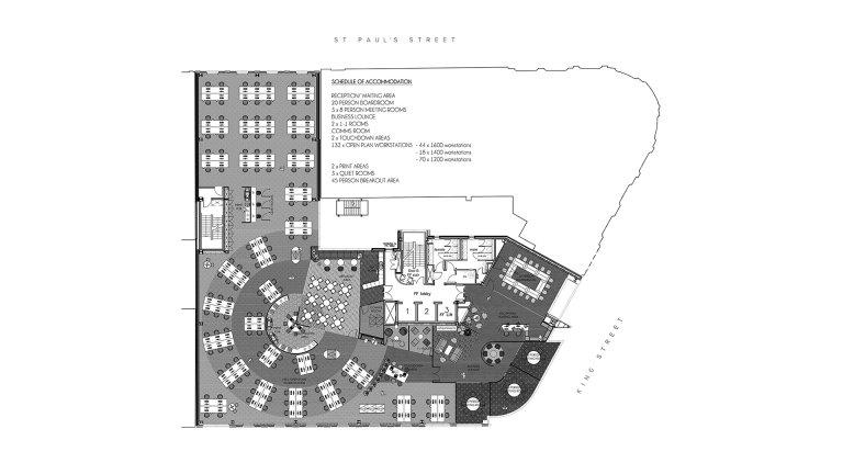 Ashcourt Rowan office plan