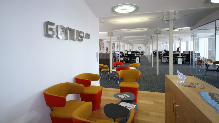 Genus Law office designed by Ben Johnson Interiors