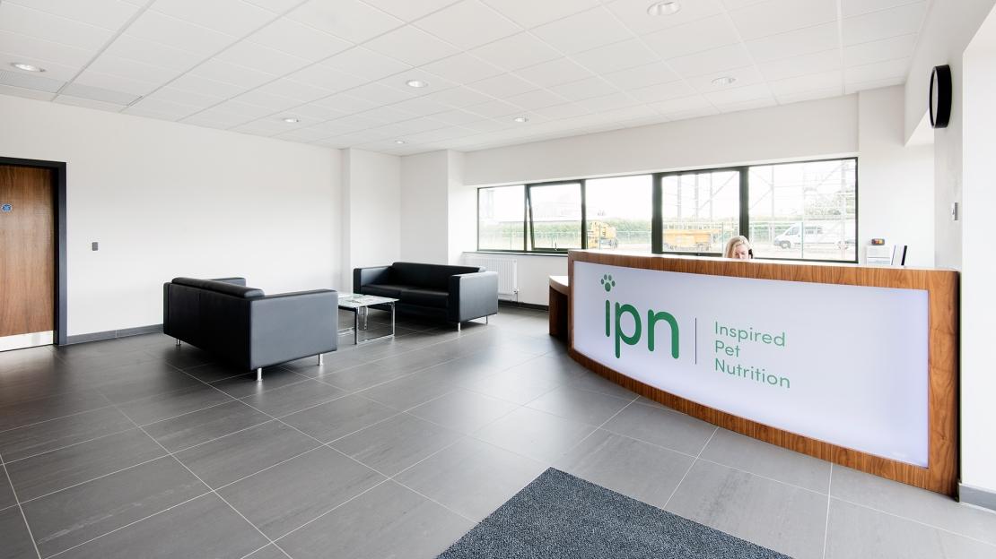 IPN bespoke reception desk