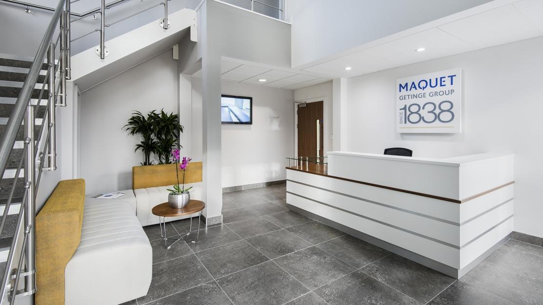 Maquet UK reception