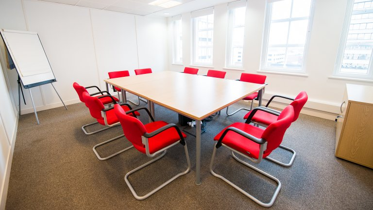 Meeting room furniture from Ben Johnson Interiors