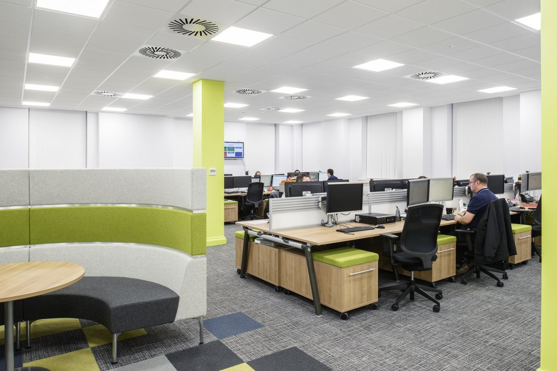 Office furniture by Ben Johnson Interiors