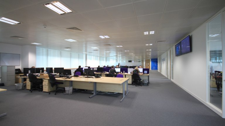 open plan office Leeds