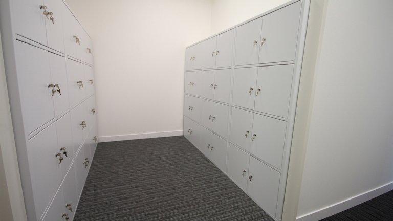 office employee lockers
