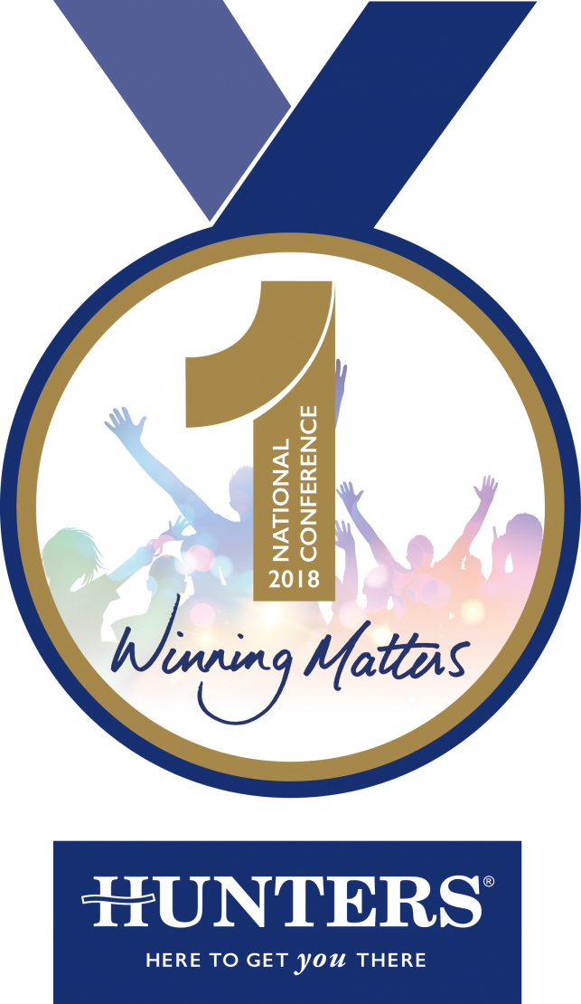 Artists impression of the Hunters National Conference 2018 medal