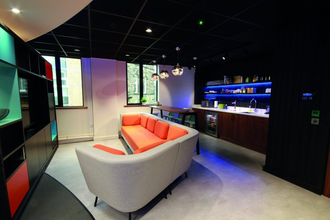 Binary - Coffee Bar - Ben Johnson Interiors delivers a Fun Office concept for client