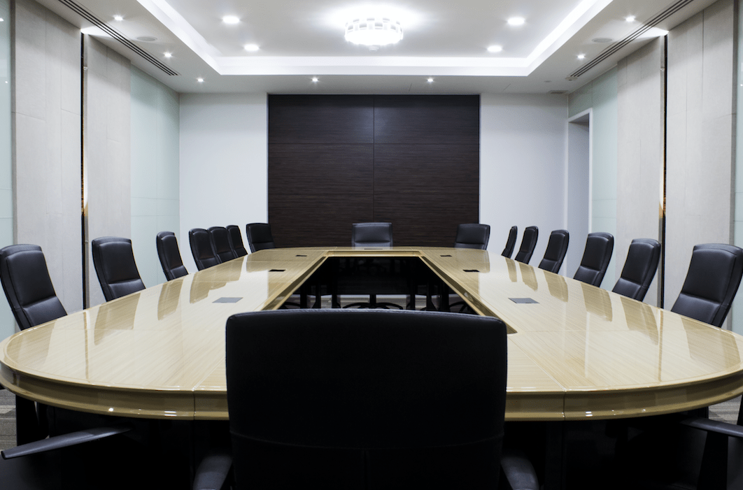 closed u boardroom