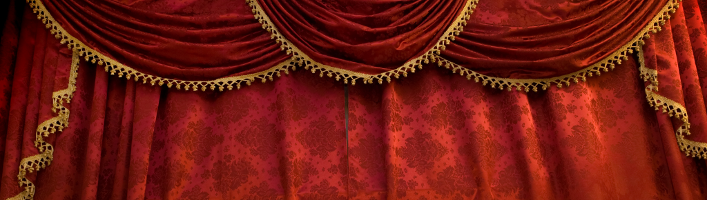 Whaleys theatre curtains and drape