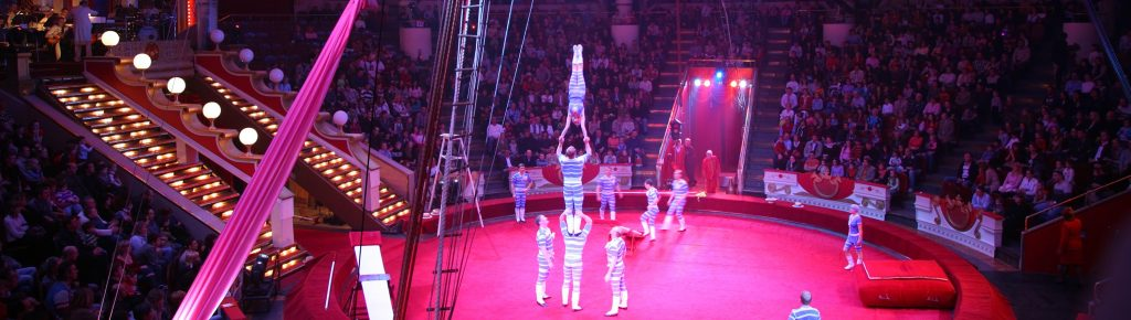 Circus curtains