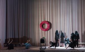 Opera theater curtains